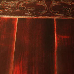 Массивная доска Кардинал. Красная массивная доска