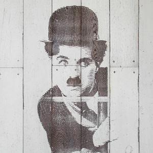 Чарли Чаплин Декоративная панель