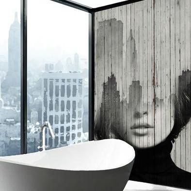 деревянные панели для ванной комнаты