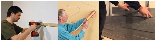 Варианты применения панелей из дерева на стенах