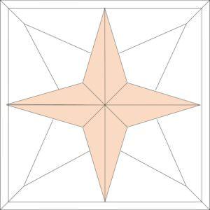 Модульный паркет Бостонская звезда