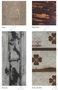 Массивная доска каталог Ирландский Паб