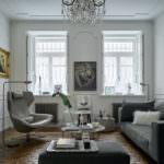 Дубовые кирпичи антик в квартире в доходном доме графа Шереметева