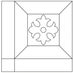 Схема укладки модульного паркета Баденсбург