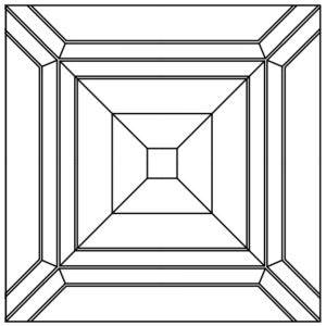Схема укладки модульного паркета Пешт