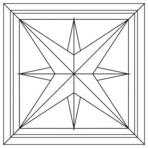 Схема укладки модульного паркета Роза ди венти