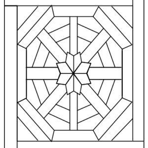 Схема укладки модульного паркета Фонтебло